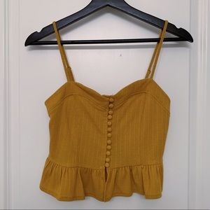 Forever 21 Cropped Tank Top NWT